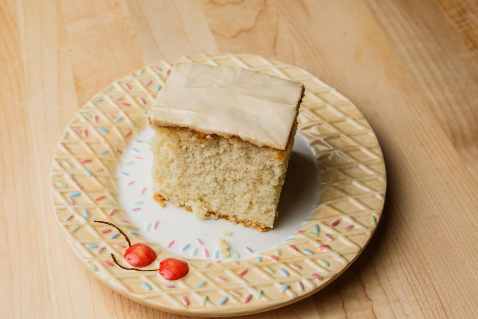 Delicious Vanilla Pudding cake