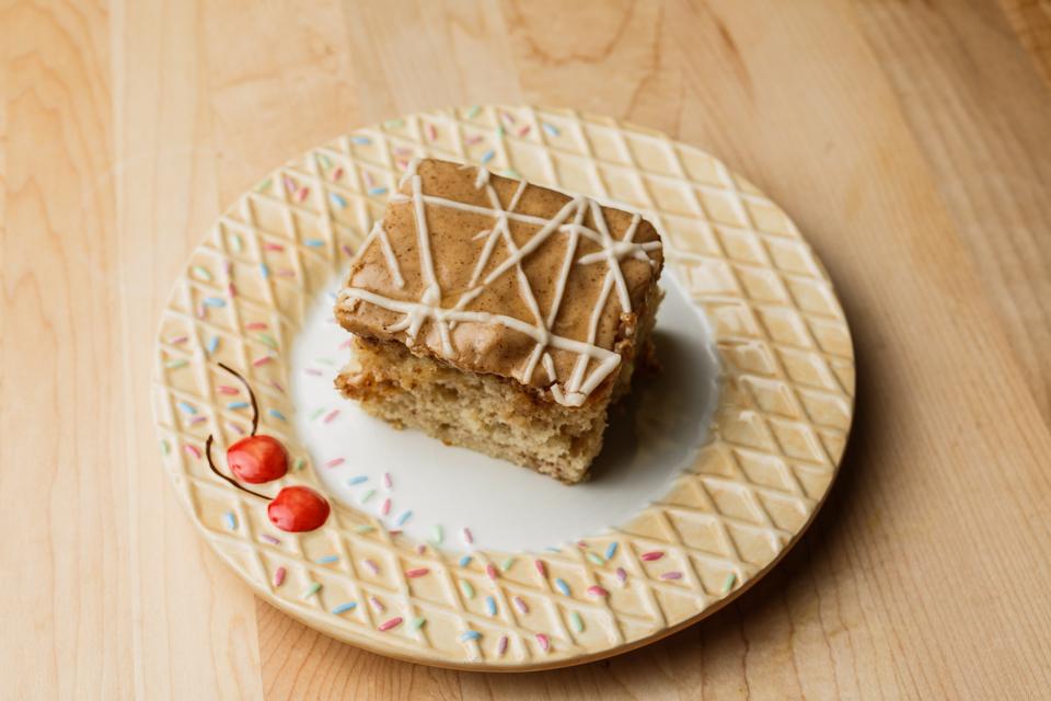 Spectacular Honey bun cake